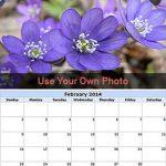 Imprimez gratuitement un calendrier avec des photos