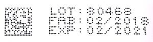 Code barre inscrit sur les boîtes de médicaments