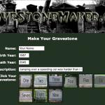 Générateur gratuit de pierre tombale