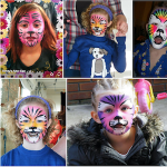 Maquillage de chat pour enfant pour Halloween