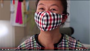 masque respiratoire tissu