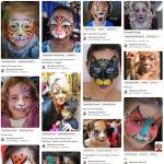 Beau maquillage de chat pour visage enfant