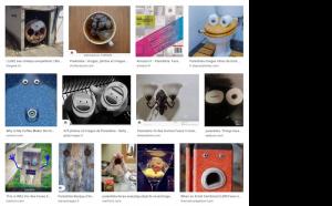 Recherche visages paréidolie dans Google Images